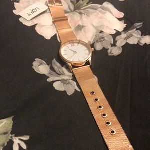 Loft Rose gold watch
